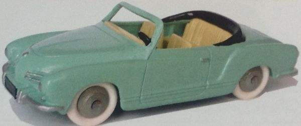 CLUB DINKY FRANCE MODEL No. CDF45 CABRIOLET KARMANN GHIA